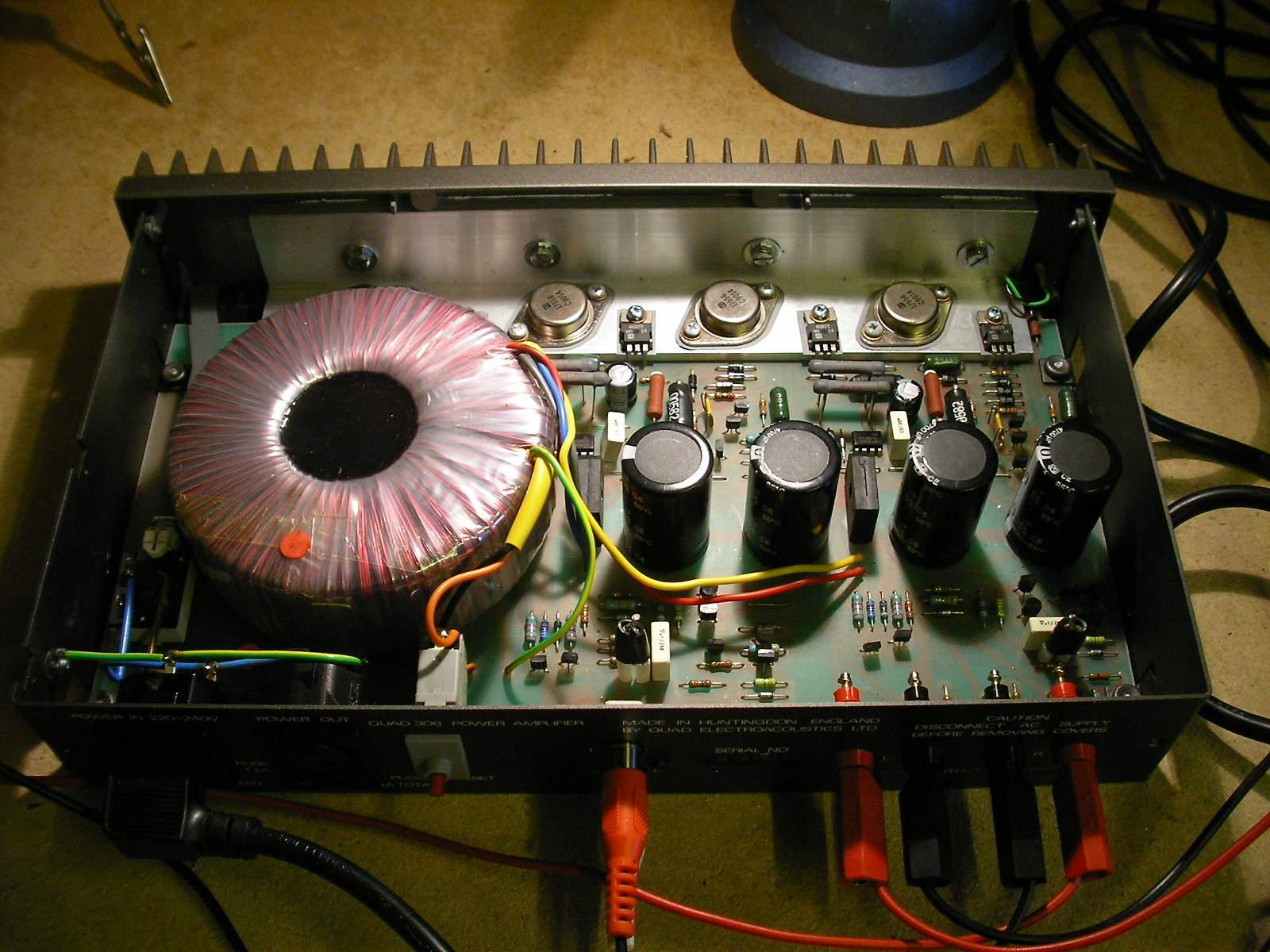 Quad 306 HiFi Power Amplifier – Liquid Sound Electronics